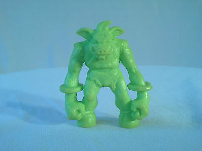 Monster in My Pocket RARE #80 Jimmy Squarefoot Series 3 NEON Green MIMP MEG NBR