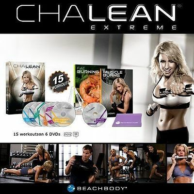 New ChaIean Extreme Circuit Training Workouts 6+1 DVDs Guides Booklets Sealed