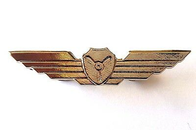 IDF Israel Army Pin Official Air force Pilot LARGE Flight Engineer Wings Badge