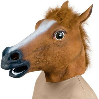 Horse Head Mask, Latex High Quality, Ships From Melbourne Great gift idea, Funny