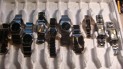 Trade Only Job Lot Of 10 X  Mixed Tungsten  Watches 100% Gen    .,,
