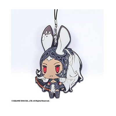 Fran - Final Fantasy - Rubber Strap - Rare - Anime - Square Enix