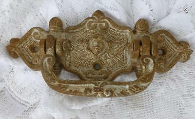 Antique French Decorated Door Handle Cabinet Handle