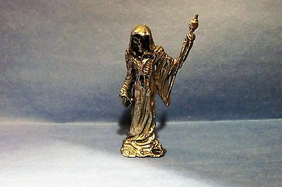 Pewter Grim Reaper With Staff