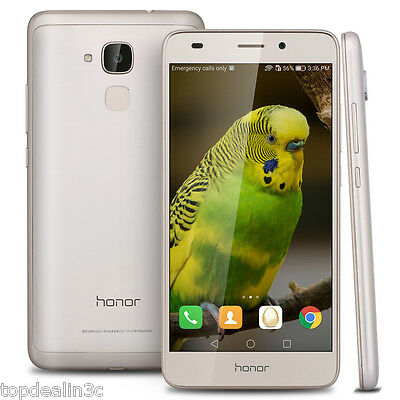 5.2'' Huawei honor 5C 2GB+16GB 4G Smartphone Android6.0 8-Core 13MP+8MP Móvil