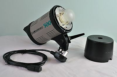 Elinchrom 500 EL500 Studio Flash Head Unit