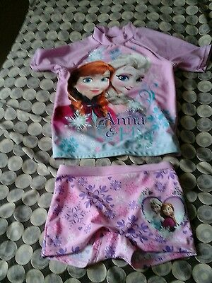 Disney Frozen Pink Outfit Age 6  Great Condition