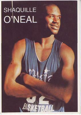 Shaquille O'neal - Nba - Clear Postcard