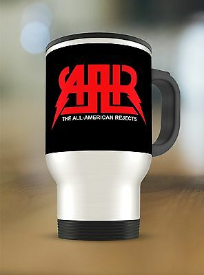 The All-American Rejects logo on Travel Mug Thermos Tumbler Stainless Steel 15oz