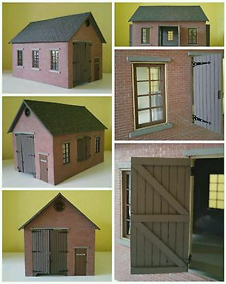 16mm SM32 SCALE RESIN GOODS SHED BRAND NEW & UNBUILT IN BAG