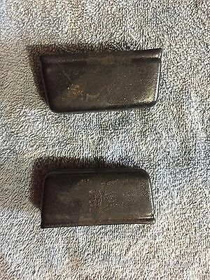 1967 1968 Mustang Console Seatbelt Protectors
