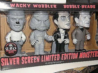 Silver Screen Monsters {Bobble Heads} limited edition { only 240 made}