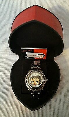 Betty Boop Watch In Red Box