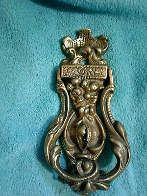 Vintage Brass Door Knocker