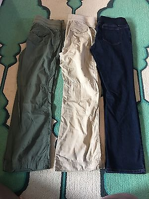 Maternity Jeans And Khakis Lot Size 8