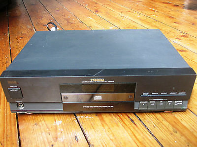 Toshiba XR-9219 Compact Disc CD Player Separate Black Tested Fully Working