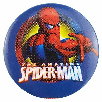 38mm The Amazing Spider-Man Badge New Official Marvel Merchandise