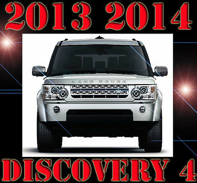 2013 2014 LR4 LAND ROVER DISCOVERY 4 L319 Workshop Service Repair Manual Parts