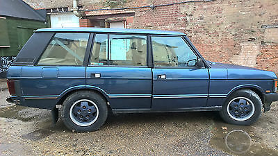 1993 LAND ROVER RANGEROVER Classic LSE AUTO BLUE 4.2 V8 Barn Find All Original
