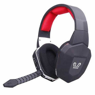 HUHD Optical Wireless Pro Gaming Headset for PS4/PS3/Xbox One/360 and PC/MAC