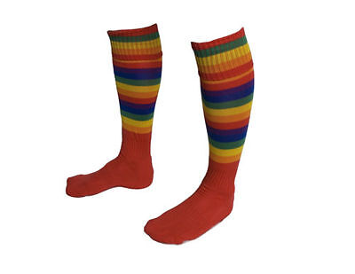 Rugby socks Training, Football, Hockey wacky, funky new, Free Post New