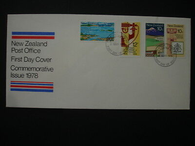 New Zealand : 1978 Centenaries : Pictorial FDC