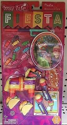 """My Life As Fiesta Accessories Set 18"""" Dolls American Girl Our Generation"""