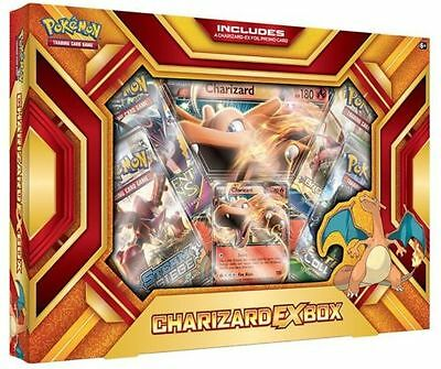 Charizard EX box fire blast POKEMON TCG INCLUDES BOOSTER PACKS