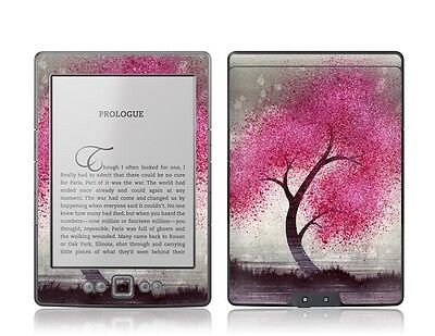 GelaSkins Protective Vinyl Cover Skin for Kindle 4 Bloom