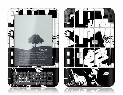GelaSkins Protective Vinyl Cover Skin for Kindle 3 Keyboard Sin City