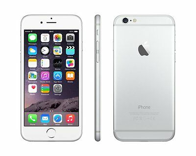 Iphone 6 Apple 16GB New Unlock 4G IOS Mobile Phone Sealpack- WHITE / SILVER