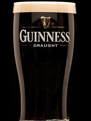 Guinness Edible A4 Rectangle Personalised Icing Sheet, Cake Topper