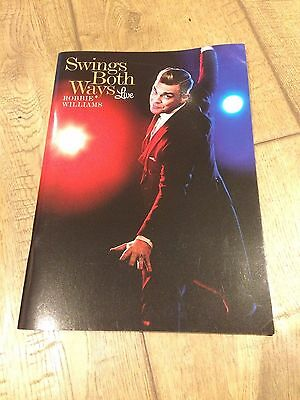 Swing Both Ways- Robbie Williams Live- Official Programme