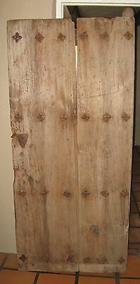 17th Century Antique Spanish Colonial Mexican Door -Architectural