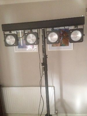 Equinox Giga Bar Disco Lighting System Led With Stand