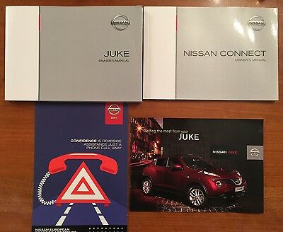 Nissan Juke & Nissan Connect Owners Manual 2012