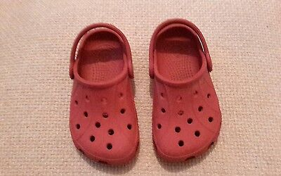 Crocs size 6 children's shoes