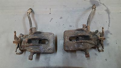 FORD FOCUS MK 1,  1998 to 2004  2x REAR BRAKE CALIPER LEFT and RIGHT
