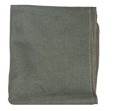 """GI Style 85% Wool Blanket by Fox Outdoor - Olive Drab 66"""" x 90"""" lightweight"""