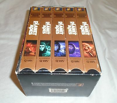 Planet Of The Apes Vhs Box Set
