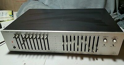 Vintage Luxman G-120A Graphic Frequency Equalizer Rare!