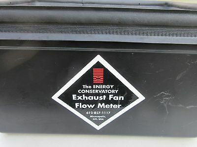 Energy Conservatory Exhaust Fan Flow Hood