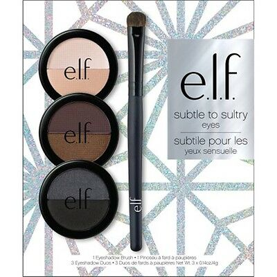 E.L.F. ELF Subtle To Sultry Eyes Eyeshadow Set ! 100% Authentic!