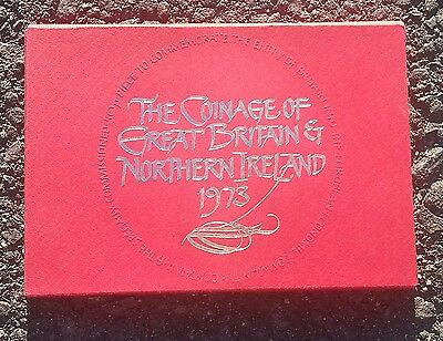 1973 Great Britain & Northern Ireland Proof Set-Complete As Issued-Free Usa Ship