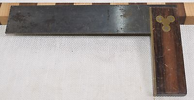 "Vintage 7-1/2"" Stanley No. 20 Plated Try Square (INV A828)"