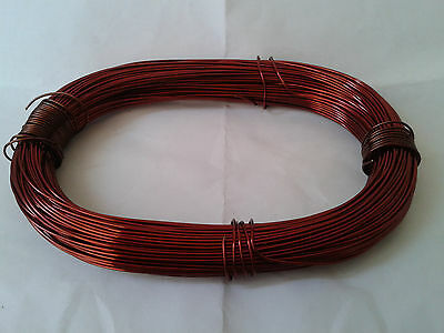 Magnet Wire 18 AWG Gauge Enameled Copper 180C 164ft Magnetic Coil Winding