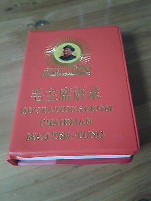 Red book Quotations from Chairman Mao Tse-Tung published in 1967