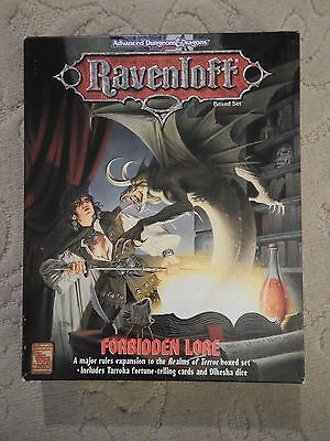 Dungeons And Dragons AD&D 2 edition Ravenloft Boxed Set  Forbidden Lore TSR 1079