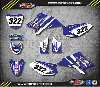 Full Custom Graphic Kit  PREMIERE STYLE Yamaha TTR 50 - 2006 - 2016 / stickers