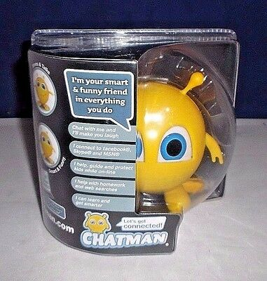 Chatman Fun Smart Usb Interactive Social Media Device Parents Kids Teens Pc Mac